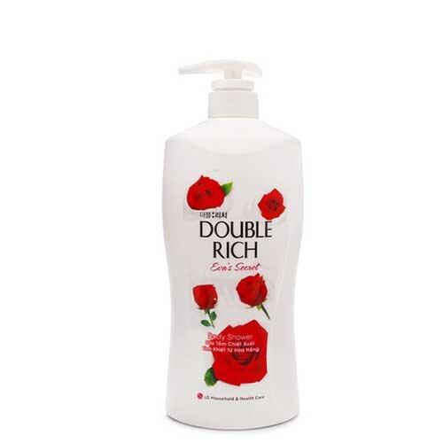 Sữa tắm hoa hồng Double Rich Eva's Secret 550g