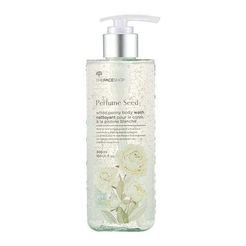 Sữa tắm hương nước hoa làm trắng da TheFaceShop Perfume Seed White Peony Body Wash 300ml