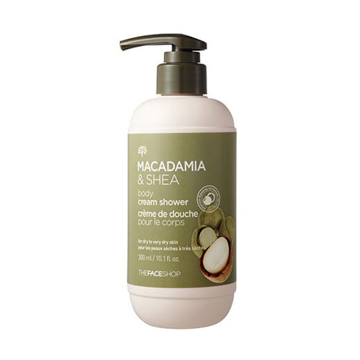 Sữa tắm Macadamia & Shea Body Cream Shower the face shop