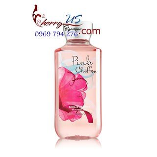 Sữa tắm Pink Chiffon bath and body work 295ml