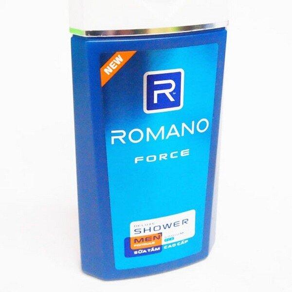 Sữa tắm Romano Force 180g