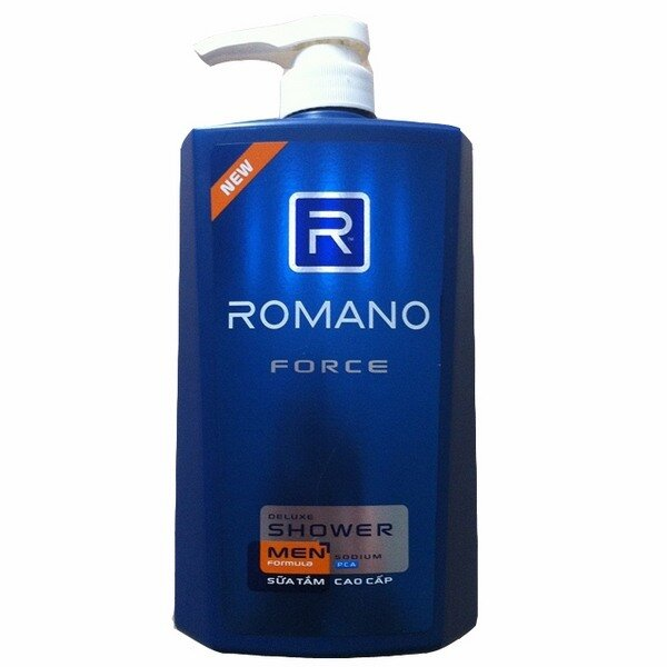 Sữa tắm Romano Force 650g