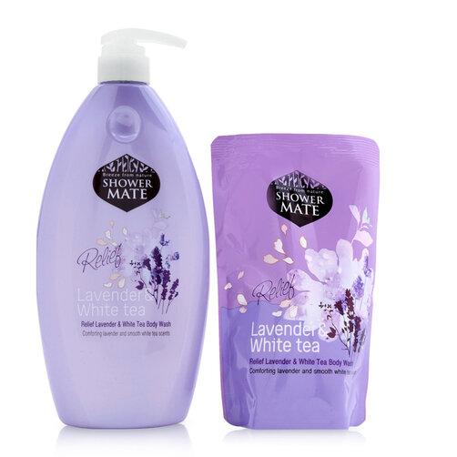 Sữa tắm Shower Mate Body Wash – Lavender & White Tea