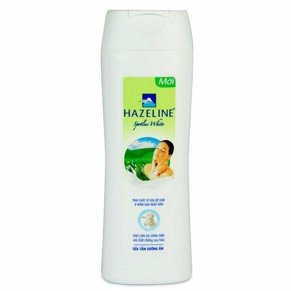 Sữa tắm sữa dê và gạo Hazeline 350g