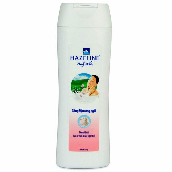 Sữa tắm sữa dê và ngọc trai Hazeline 350g