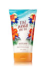 Sữa tắm tẩy da chết Bath&Body Works Tiki Mango Mai Tai 226g