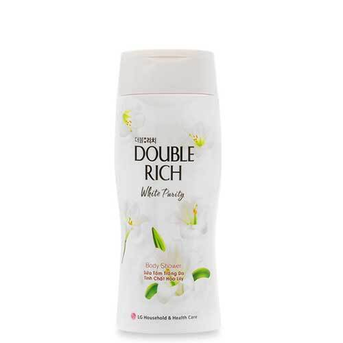 Sữa tắm tinh chất hoa LiLy Double Rich White Purity 400g