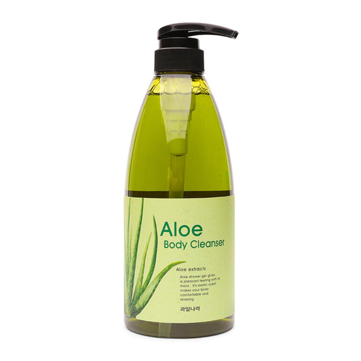 Sữa tắm tinh chất lô hội Welcos Aloe Body Cleanser 740g