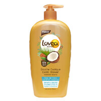 Sữa tắm tinh dầu dừa - Exotic Coconut Shower Gel Lovea – 95% NAT - 750ml