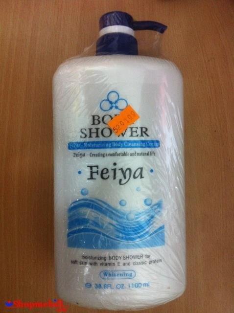 Sữa tắm trắng da Feiya 1100ml