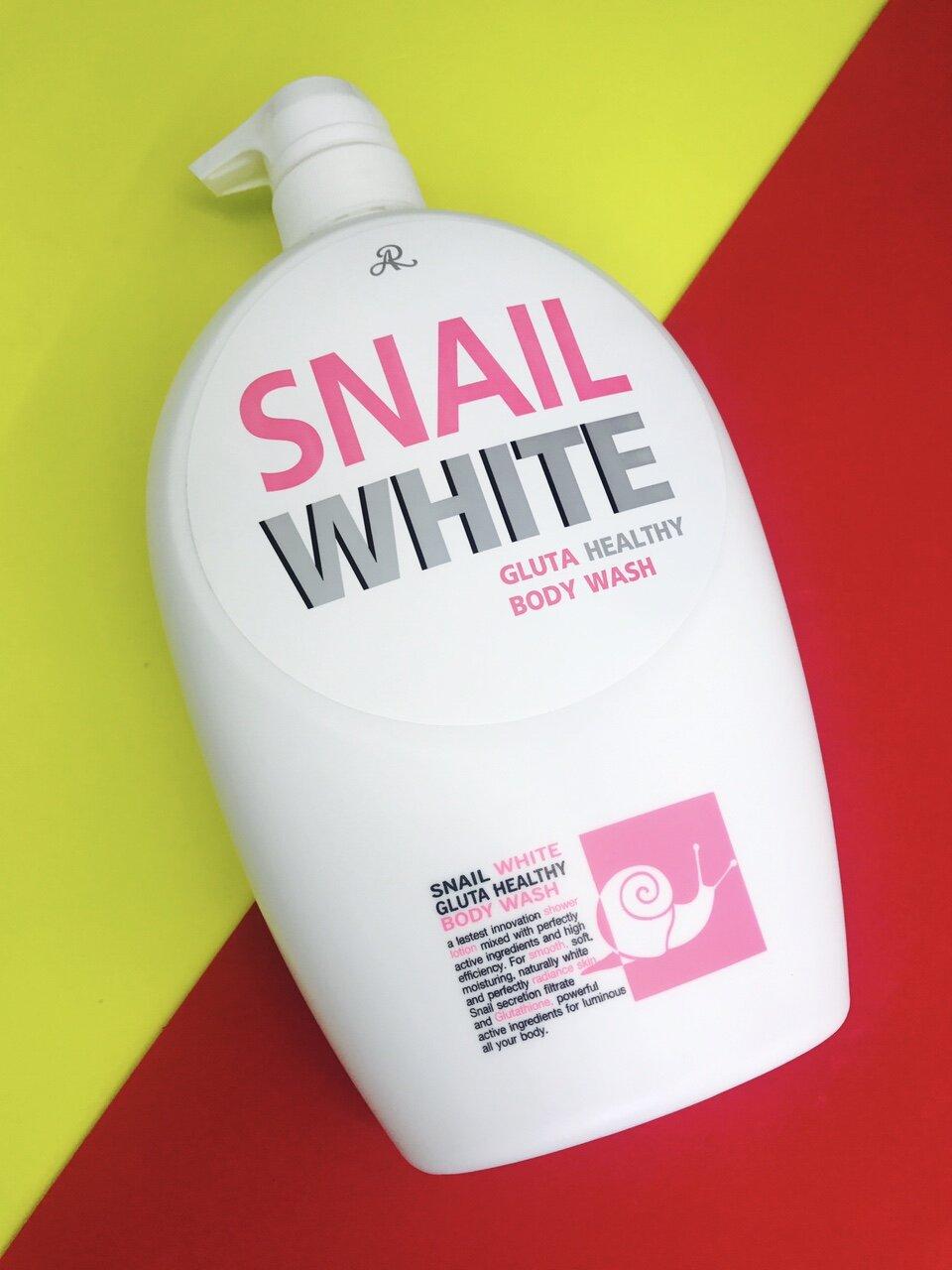 Sữa tắm trắng da Snail White - 800ml