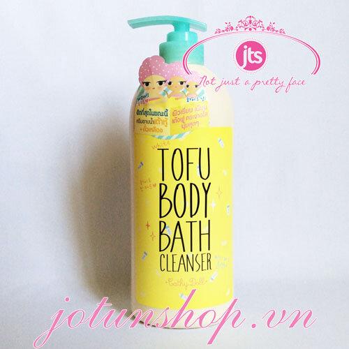 Sữa tắm trắng da Tofu White Tofu Body Bath Cleanser 750ml