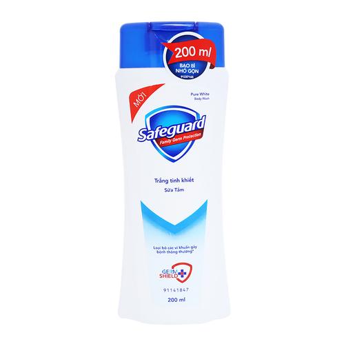 Sữa tắm trắng tinh khiết Safeguard chai 200ml