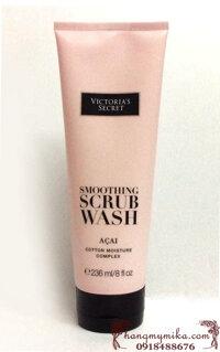 Sữa tắm Victoria Secret Smoothing Scrub Wash Acai 236ml