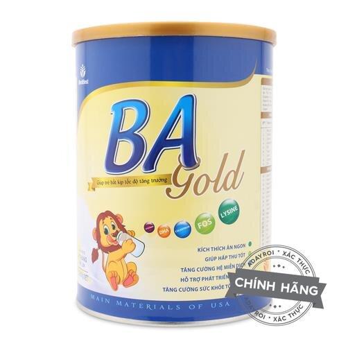 Sữa tăng trưởng Medibest BA Gold 900g