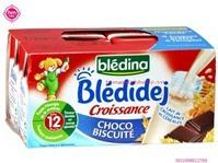Sữa tươi Bledina Choco Biscuite 250ml