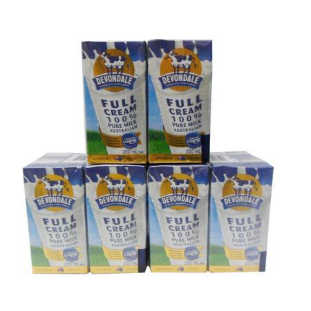 Sữa tươi Devondale Full Cream 200ml