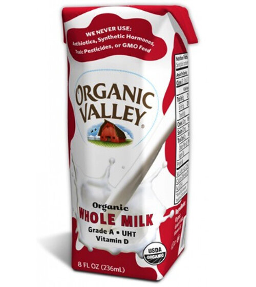 Sữa tươi ít béo Organic Valley - 236ml