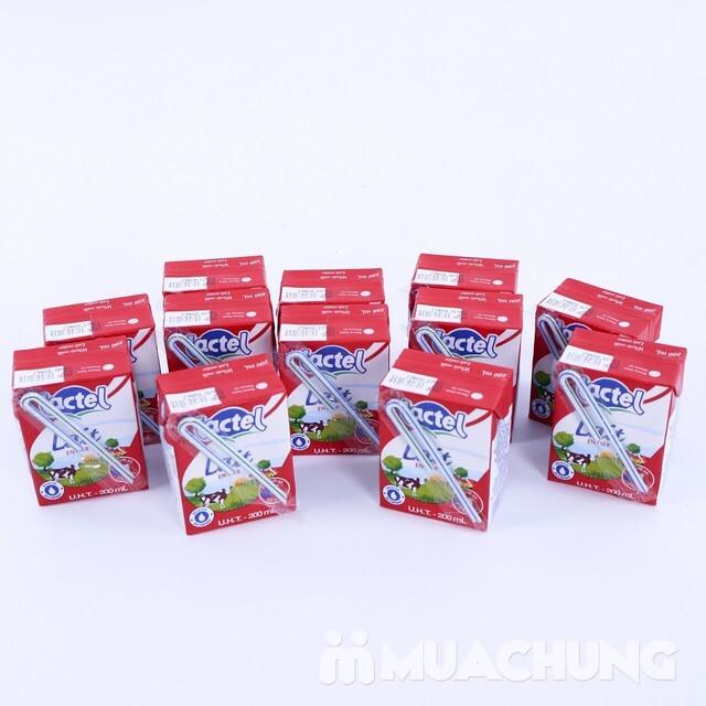 Sữa tươi nguyên kem Lactel – 200ml
