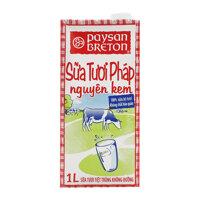 Sữa Tươi Nguyên Kem Paysan Breton 1L
