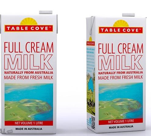 Sữa tươi nguyên kem TABLE COVE 1L