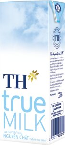 Sữa tươi tiệt trùng TH True Milk 180ml - 4 hộp/ vỉ (có đường)