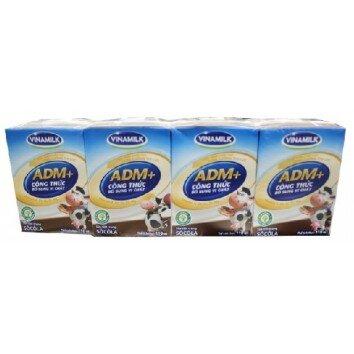 Sữa tươi tiệt trùng Vinamilk ADM 110ml - 4 hộp/ vỉ
