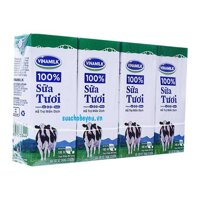 Sữa tươi vinamilk có đường 180ml x 48 hộp
