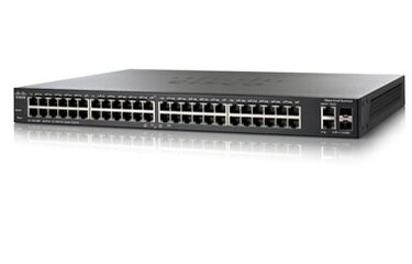 Switch Cisco SF200-48P - 48-Port 10/100Mbps PoE Smart