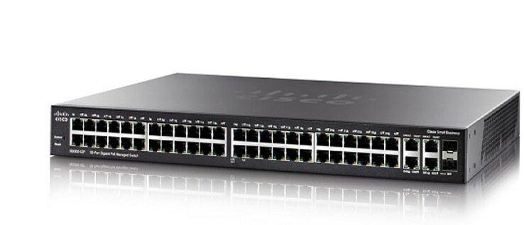 Switch Cisco SG350-52-K9-EU - 52 port