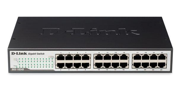 Switch D-Link DGS-1024D 24-Port 10/100/1000Mbps