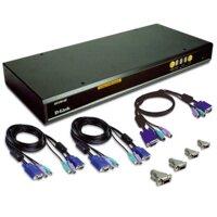 Switch D-Link DKVM-440 PS2/USB 8 Port