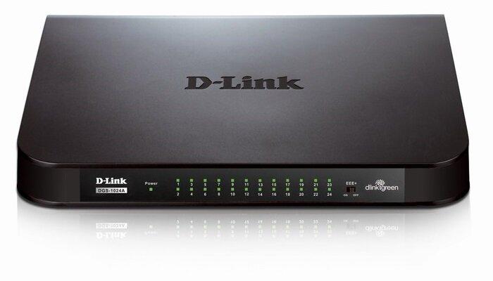 Switch Gigabit Dlink DGS-1024A - 24 ports