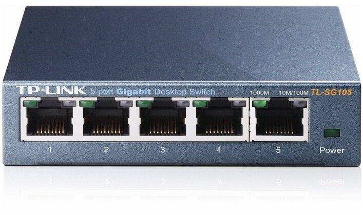 Switch Gigabit Tplink TL-SG105 - 5port 1000mbps
