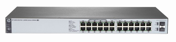 Switch HP 1820-24G-PoE J9983A (185W)