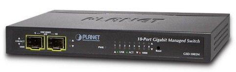Switch Planet GSD-1002M - 8 port