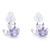 Bông tai bạc 925 đính pha lê E113
