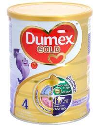 Sữa bột Dumex Gold 4 - hộp 1500g (dành cho trẻ từ 3 tuổi trở lên)