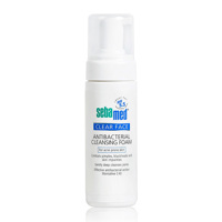 Sữa rửa mặt tạo bọt kháng khuẩn, trị mụn Sebamed Clear Face Antibacterial Cleansing Foam pH 5.5 150ml