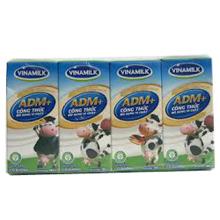 Sữa tươi tiệt trùng Vinamilk ADM 180ml - 4 hộp/ vỉ