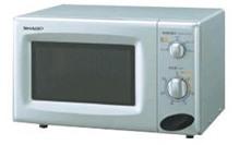 Lò vi sóng Sharp R218LS (R-218LW) - Lò cơ, 22 lít, 800W, Có nướng ...