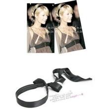 Băng đô cài tóc phi bóng cột dây sau gáy Paris Hilton - TC009