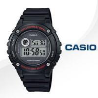 Đồng hồ trẻ em năng động thời trang Casio W-216H-1A