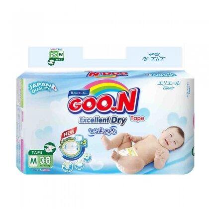 Tã - bỉm dán Jumbo Goon Renew Slim M38