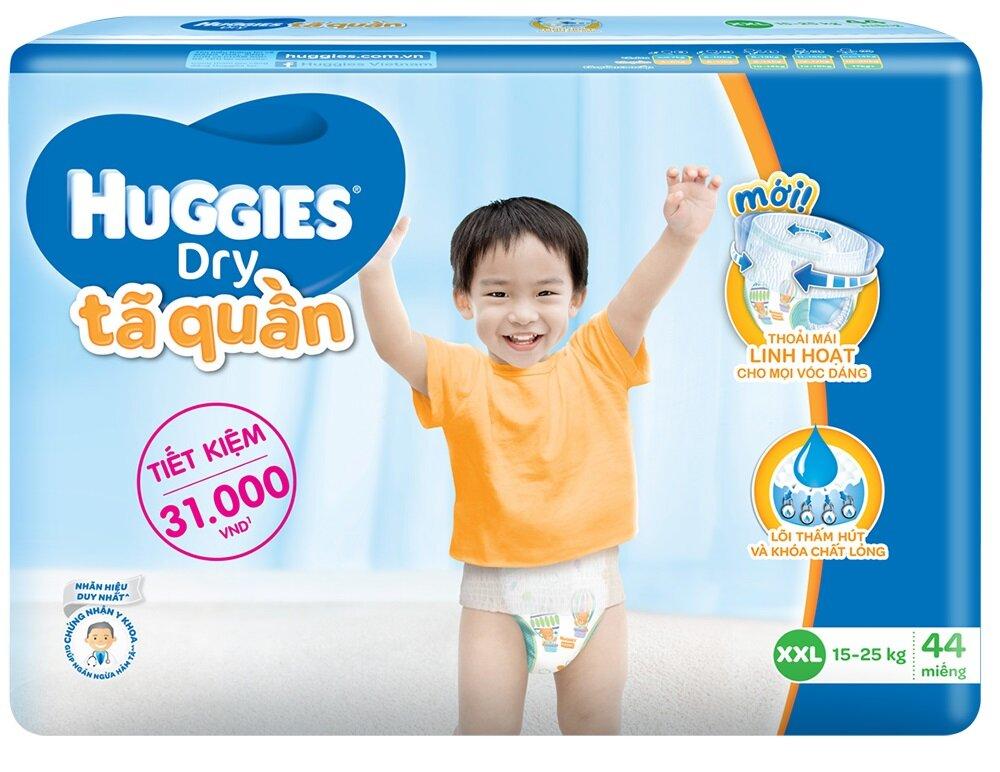 Tã-bỉm quần Huggies Dry Pants Big Jumbo XXL44