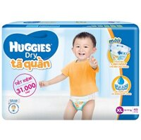 Tã-bỉm quần Huggies Dry Pants Big Jumbo XL 48
