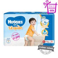Tã-bỉm quần Huggies Dry Pants L54