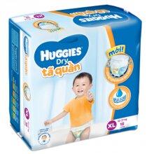 Tã-bỉm quần Huggies Dry Pants XL18