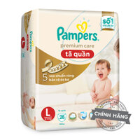Tã-bỉm quần Pampers Premium Care L28 (28 miếng)