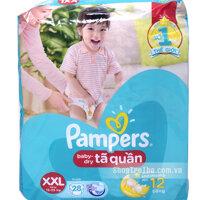 Tã - Bỉm quần Pampers XXL28 dành cho bé 15 đến 25kg